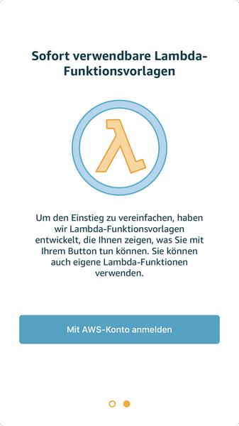 AWS IoT Button einrichten › tsjdev apps